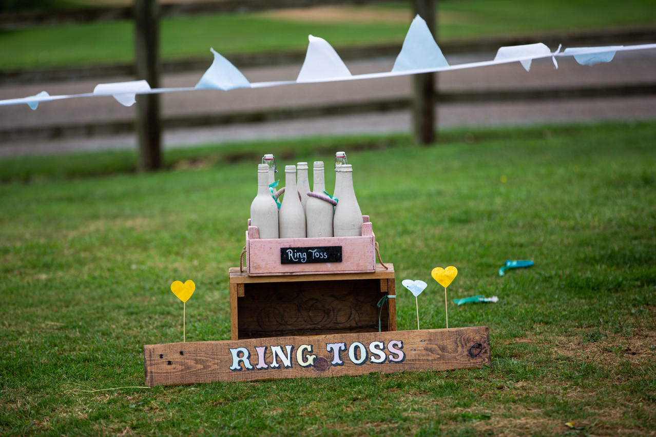 Party game Ring Toss.