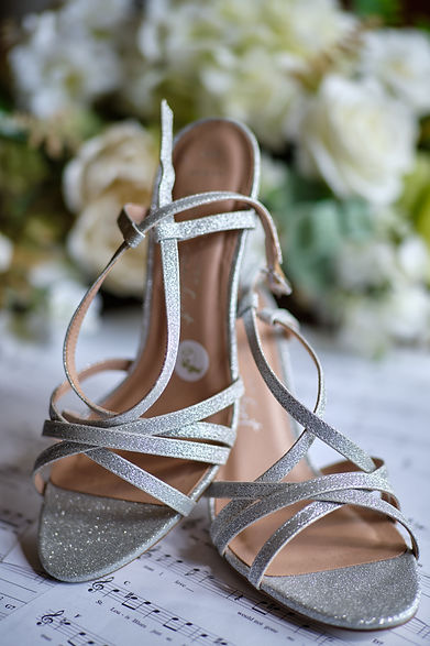 Wedding Shoes at Holmewood Hall