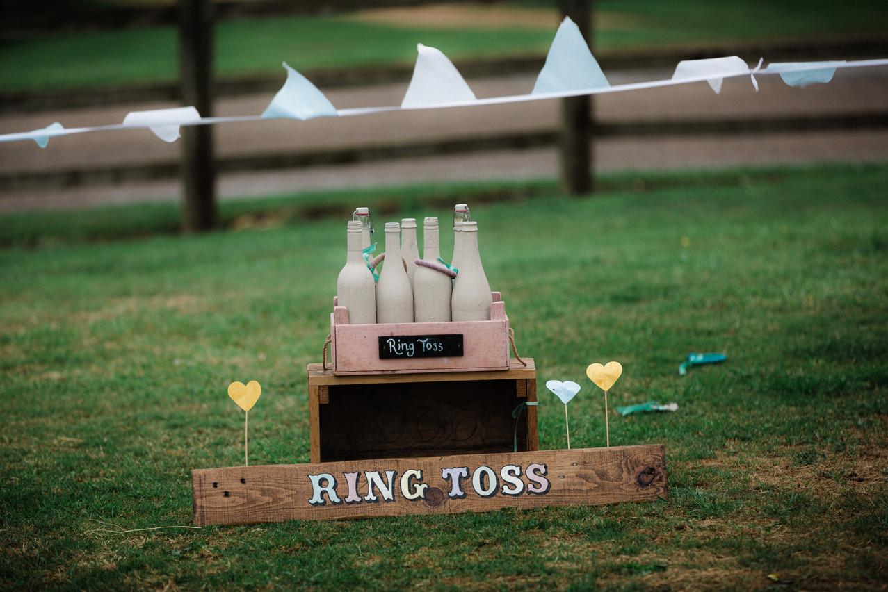 Ring Toss garden game.
