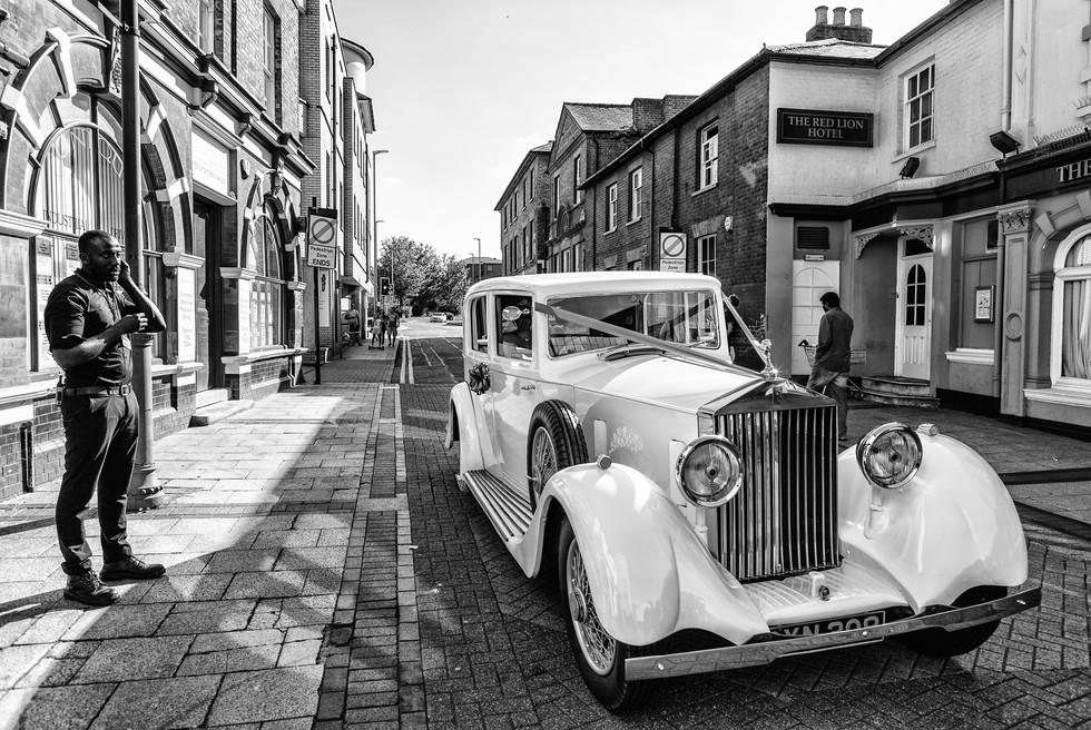 Vintage Rolls Royce in Luton, UK