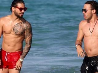 (FOTOS) Maluma y Prince Royce prenden Miami Beach.