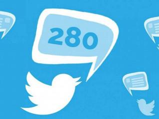 Twitter duplica la cantidad de caracteres por mensaje ¡ahora serán 280!