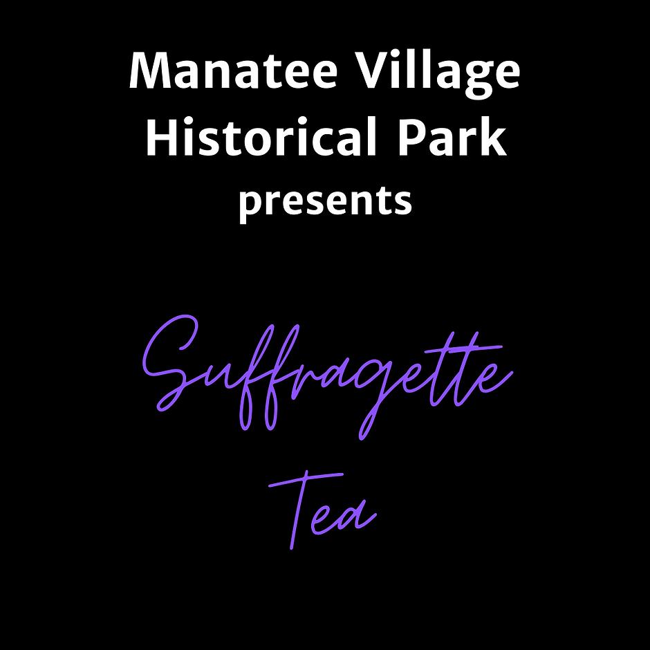 Slide 1 suffragette tea opening panel af