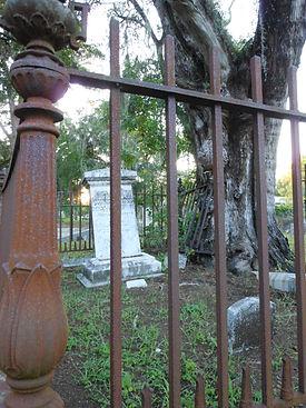 MBG grave fence - permelia manatee burying grounds 2011.jpg