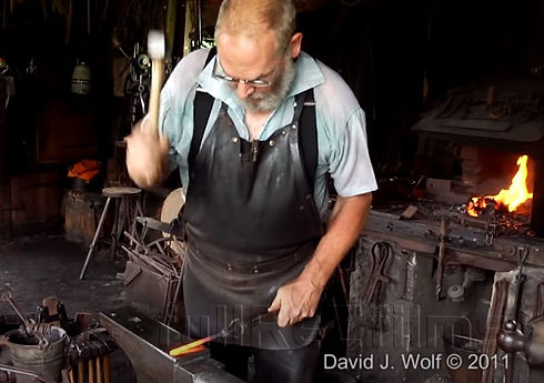 blacksmith demo by kids tool school yout