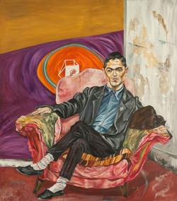 Gustavo Marrone en su atelier