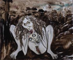 El psicoanálisis con rabia roía el cráneo por dentro y por fuera