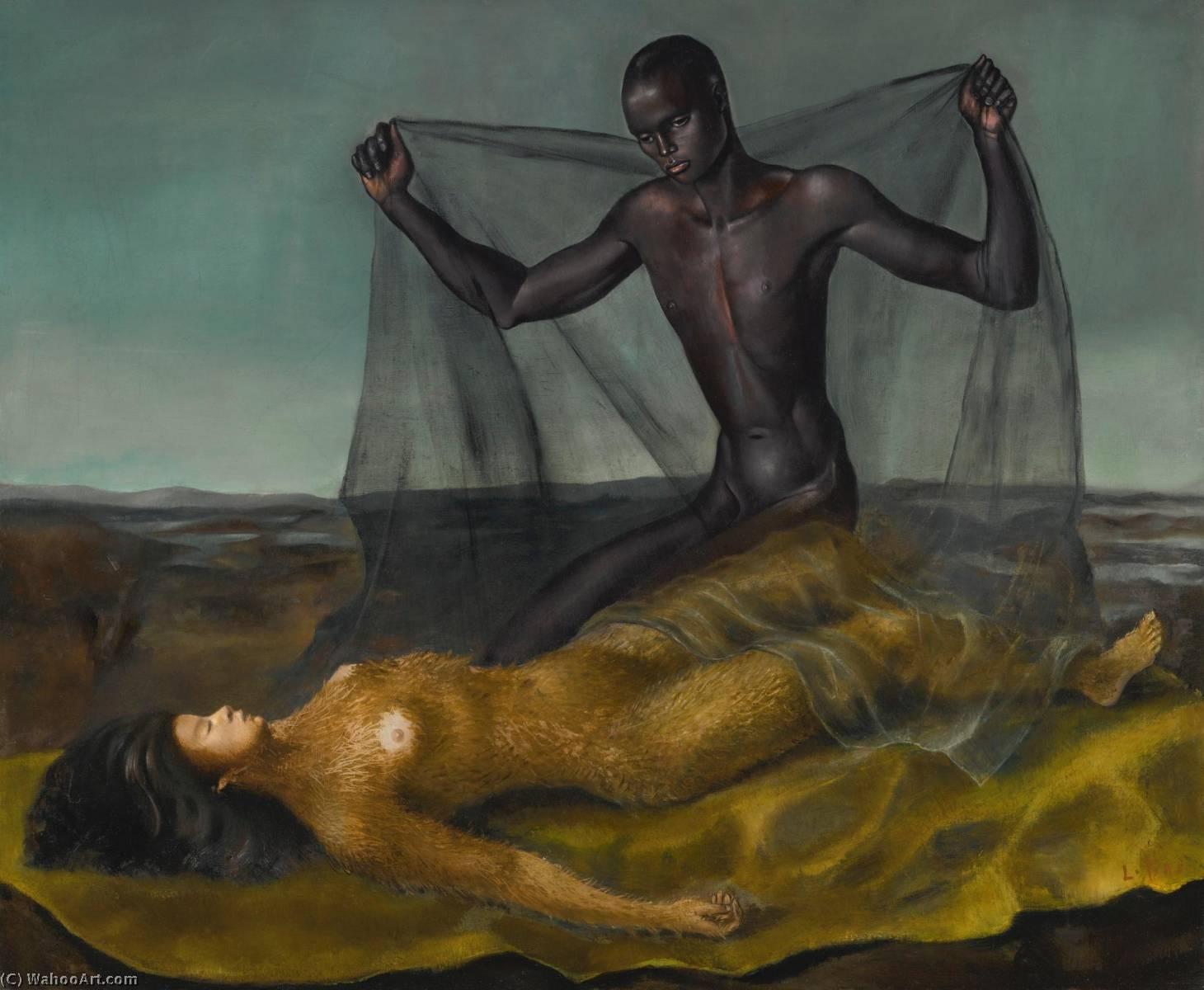 Homem noir et femme chamuscar