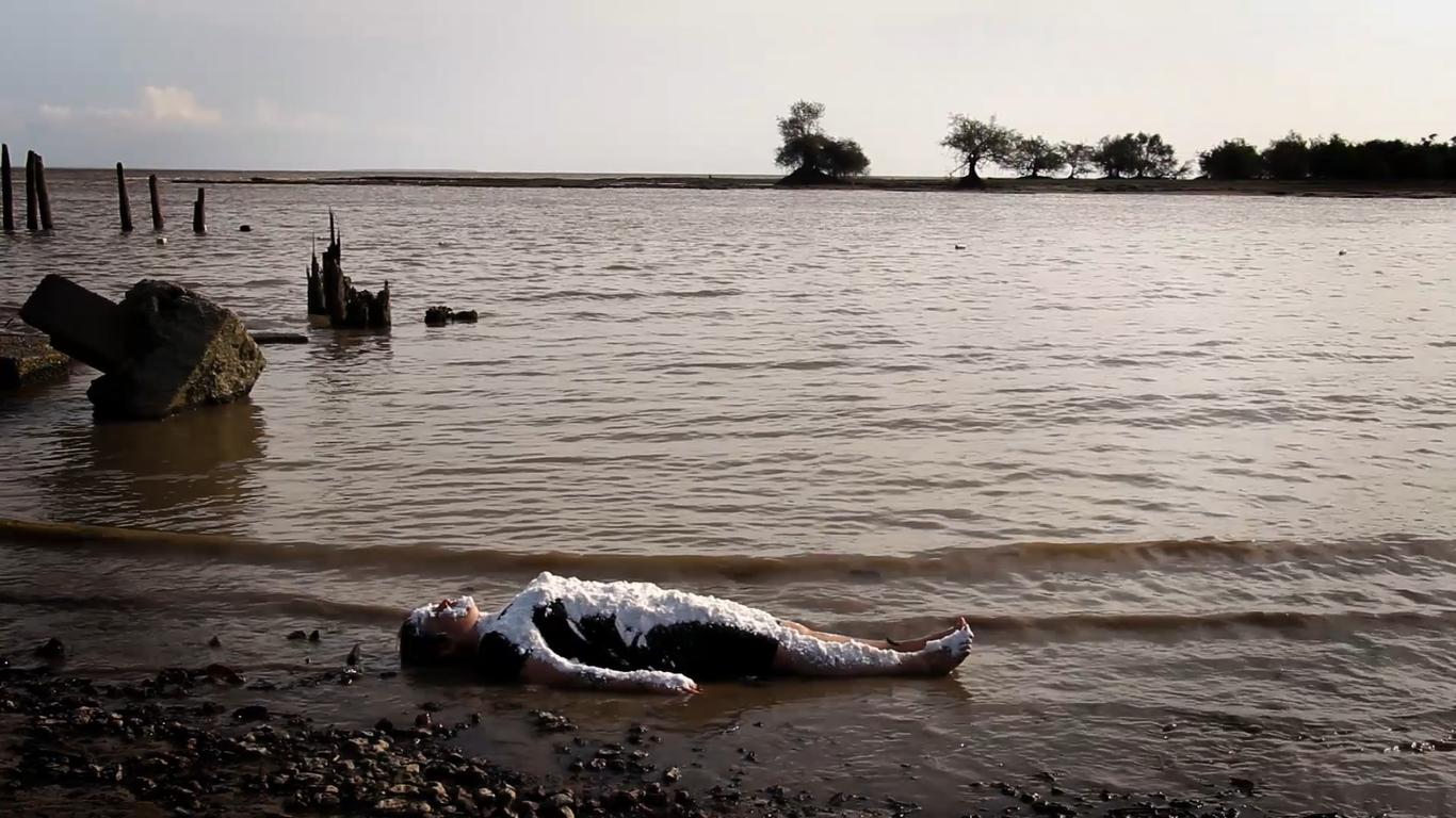 estudo 3: salobro | contaminações sobre o rio