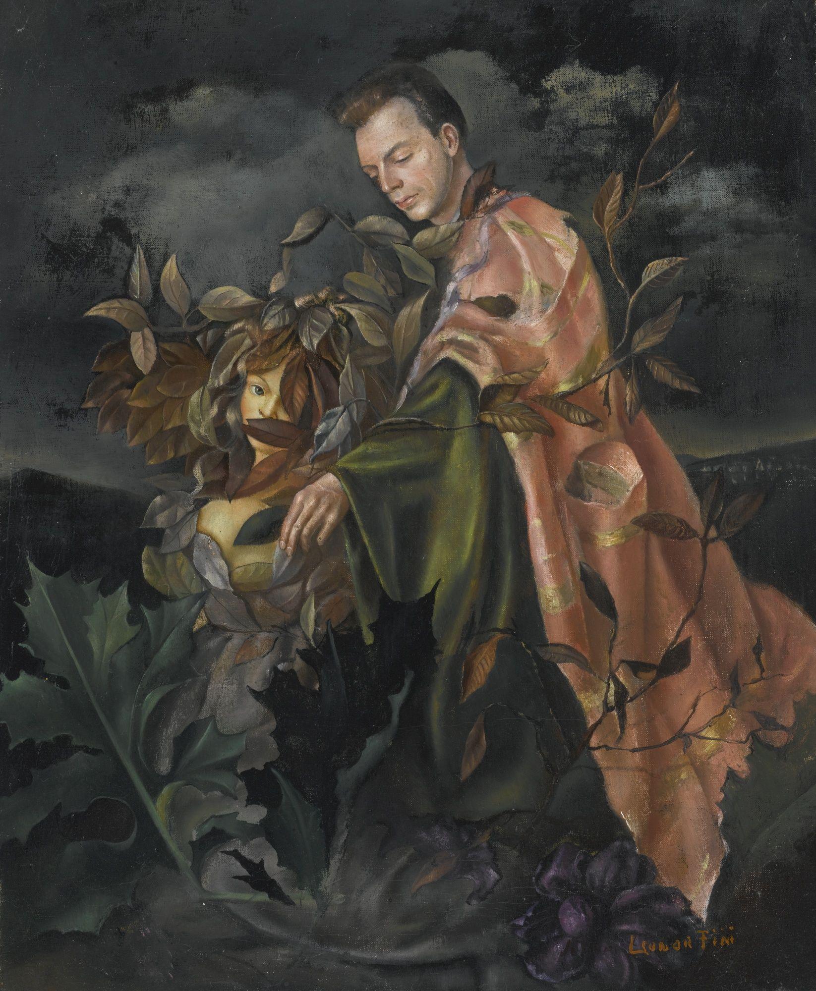 Autoportrait avec Stanislao Lepri