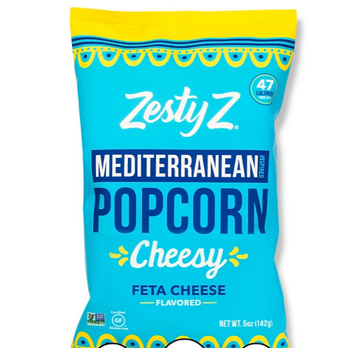 Zesty Z Feta Cheesy Popcorn -5 oz.