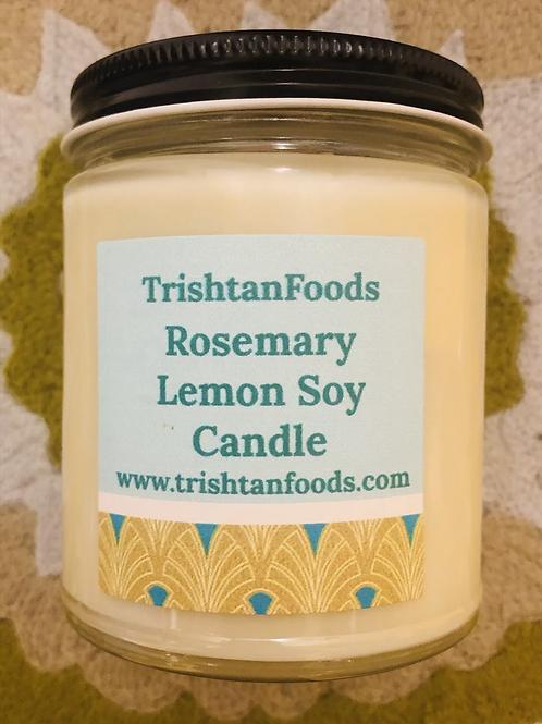 Rosemary Lemon Soy Candle