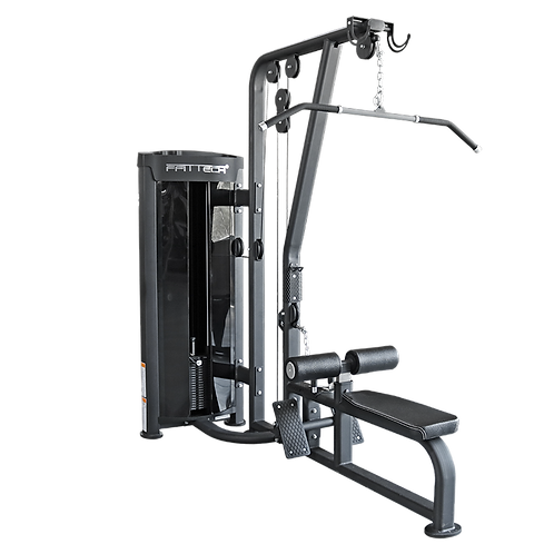 Lat Pull Down and Low Row