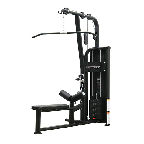 Lat Pulldown and Low Row