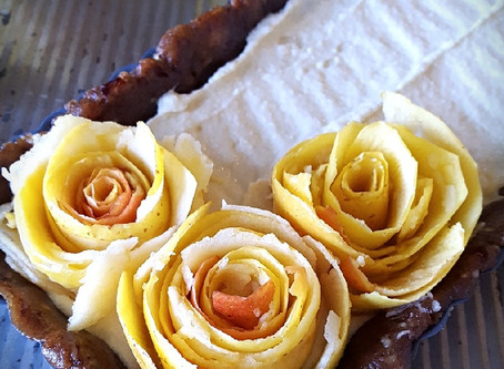 Lay Me Down on a Bed of Roses + Apple Rosette Tart Recipe