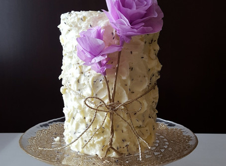 Resist Conformity + Earl Grey Cake with Lavender - Vanilla Bean Buttercream
