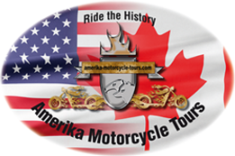 Logo Amerika Motocycle Tours