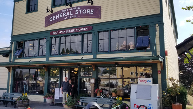 The Port Gamble General Store & Café has New Owners and Some New Treasures