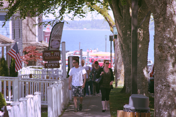 The Port Gamble Merchants are hosting a Town-Wide Side Walk Sale on Mother's Day!