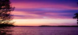 Sunset in Port Gamble