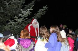 Santa Claus at Country Christmas