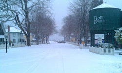 Caution-Beautiful when Snowy