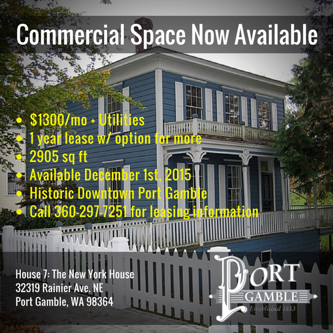 Historic Commercial Space Available
