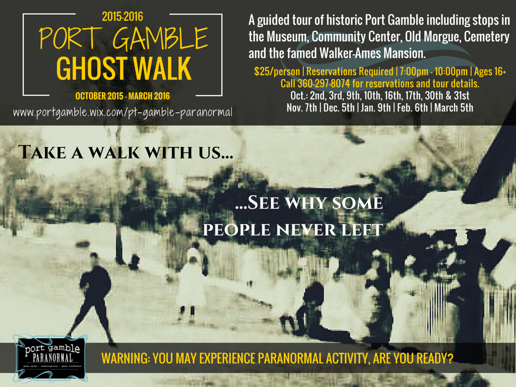 2015 Ghost Walk Poster