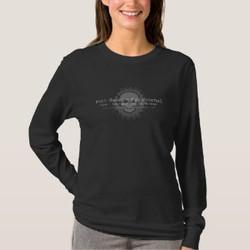 Ladies Long-Sleeve 2-side T-Shirt