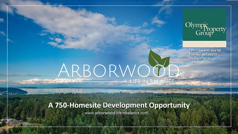 What the Arborwood in Kingston, WA project is all about.