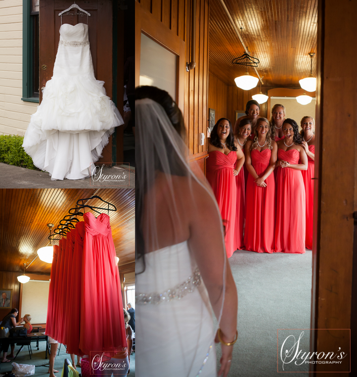 Chic Summer Wedding at the Hood Canal Vista Pavilion