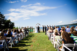 Water View Ceremony in Port Gamble