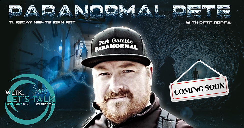 Paranormal Pete Show Banner Coming Soon.
