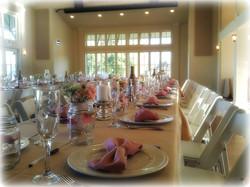 Simple and Elegant Wedding Set Up