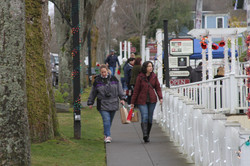 Holiday Shopping in Port Gamble