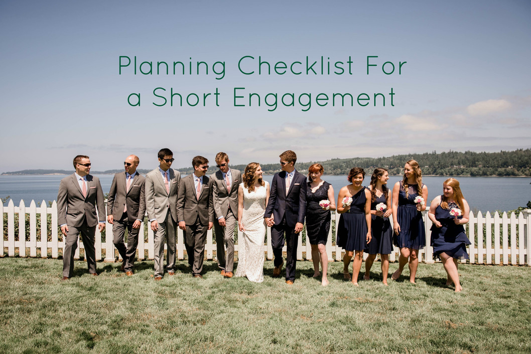 Planning Your Pacific Northwest Wedding in 5 Months or Less