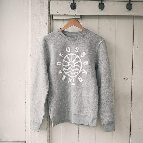 Sweater unisex heather grey