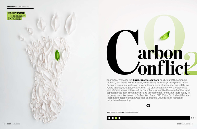 Wilhelmsen Ships Service Photographer Vessel Shipping Conseptual Photo Carbon CO2 Environmental Magazine