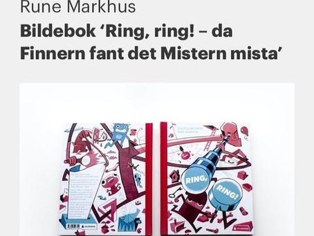 Diplom til «Ring, ring» i Visuelt 2019!