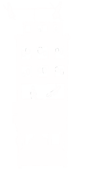 SIlhueta da Obra Palácio dos Fantasmas