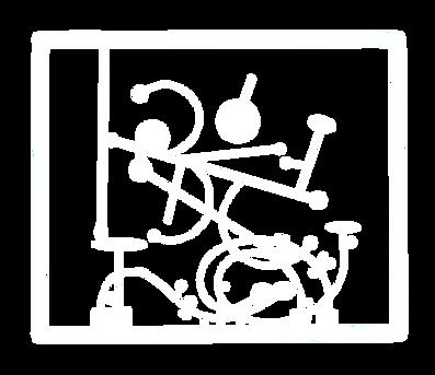 SIlhueta da Obra Objeto Cinético C-15