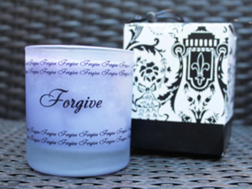 "Lavender ""Forgive"" Candle"