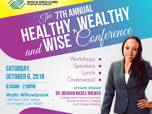 Forgiving For Living's 7th Annual Healthy, Wealthy & Wise Conference