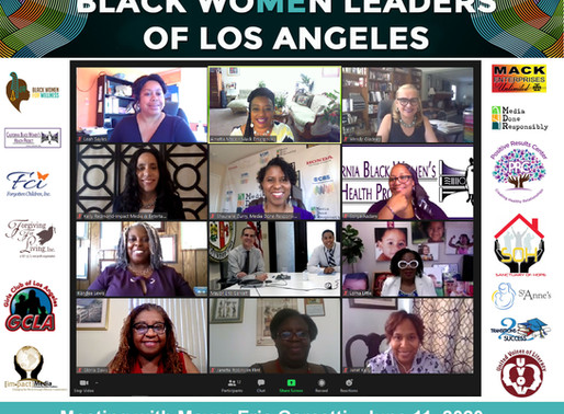 #BlackWomenLeadersLosAngeles