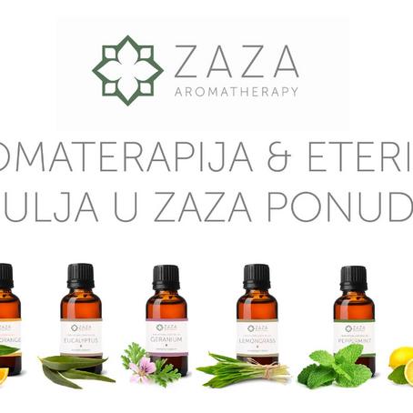 Koja eterična ulja Zaza aromatherapy ima u ponudi?