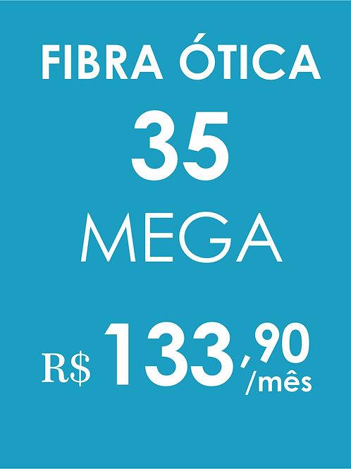 INTERNET 35 MEGA FIBRA ÓTICA