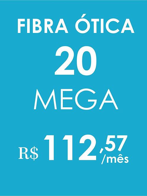 INTERNET 20 MEGA FIBRA ÓTICA
