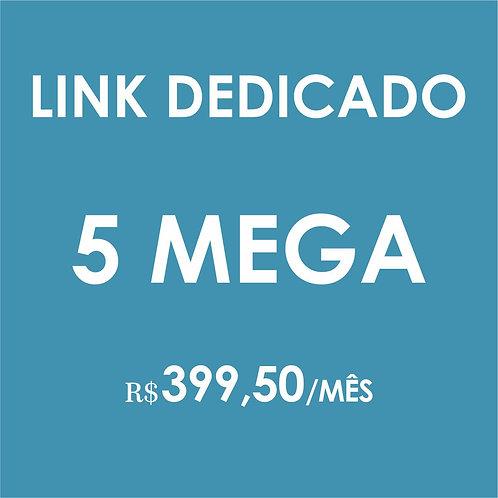 INTERNET LINK DEDICADO 5 MEGA