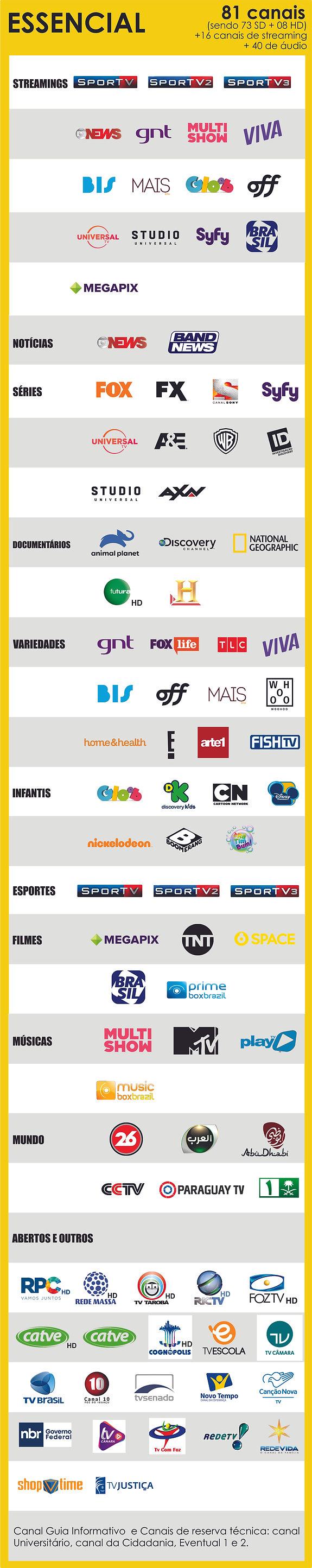 tv-a-cabo-e-streaming-foz-pacote-essenci