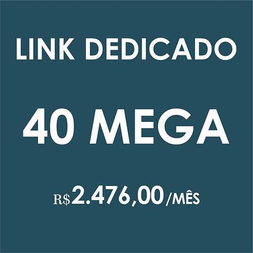 INTERNET LINK DEDICADO 40 MEGA